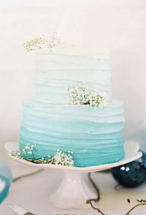 wedding photo - Beach Themed Wedding Cakes