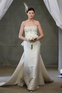 wedding photo - Carolina Herrera, Spring 2013