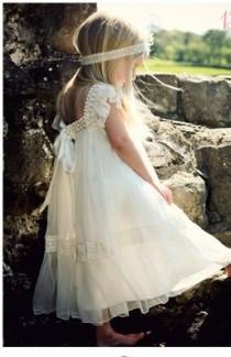 wedding photo - Little Princess Flower Girl Dress