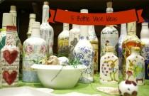 wedding photo - Five Ideas for Using Bottles as Vases