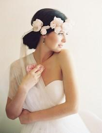wedding photo - Erica Elizabeth Designs English Rose Collections 2015