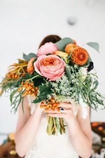 wedding photo - Modern Autumn Wedding Inspiration