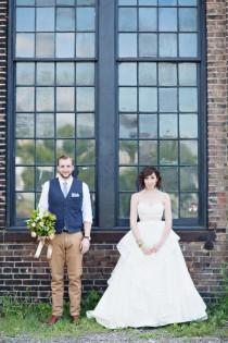 wedding photo - Basilica Hudson Wedding Ruffled