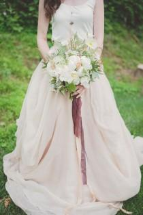 wedding photo - Natural Wedding Inspiration With Copper Details