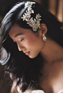 wedding photo - Beautiful, Ornate Show-stopping Hair Accessories; Enchanted Atelier By Liv Hart 2015 Collection