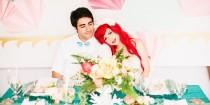 wedding photo - 'Little Mermaid' Wedding Photos For Your Disney-Loving Heart