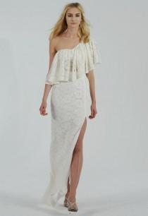 wedding photo - Houghton 2015 Wedding Dresses Channel Carrie Bradshaw For Fall