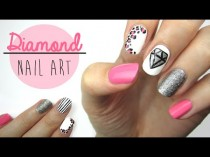 wedding photo - Diamond Nail Art