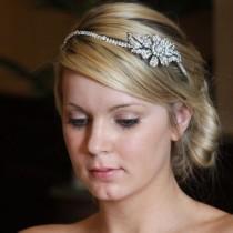 wedding photo - Daisy Side Tiara (ic)