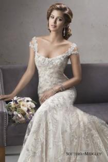 wedding photo - 11 Beaded Dresses To Love