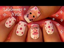 wedding photo - Lalaloopsy Doll Nails!
