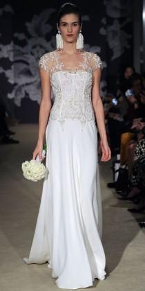 wedding photo - Carolina Herrera Spring 2015 Bridal Collection - Carolina Herrera