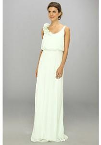wedding photo - Adrianna Papell Blouson Irri Chiffon Gown w/ Rosette (Bridesmaid)