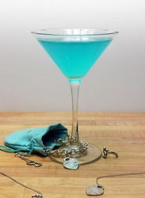wedding photo - Tiffany Blue Cosmopolitan