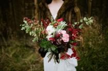 wedding photo - Fall Ghost Town Wedding Inspiration