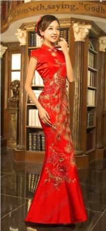 a13036e31 Chinese Wedding Dress QiPao Kwa Cheongsam 20 - Latest Fashion Custom Make  Avail