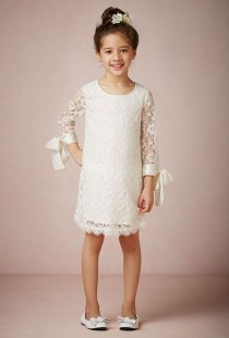 "wedding photo - BHLDN - ""Lyla"" Flower Girl Dress"