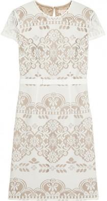 wedding photo - Collette by Collette Dinnigan Knitted lace dress