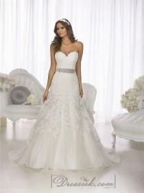 wedding photo - Gorgeous Vintage Sweetheart A-line Lace Over Wedding Dresses