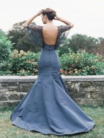 wedding photo - Blue Wedding Dress Inspiration from Sareh Nouri