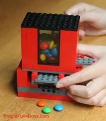wedding photo - How to Make Lego Candy Dispenser - DIY & Crafts - Handimania