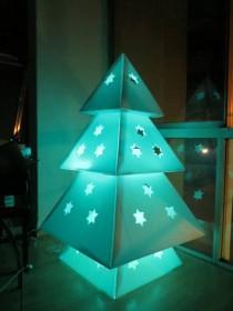 wedding photo - How to Make Cardboard Christmas Tree - DIY & Crafts - Handimania