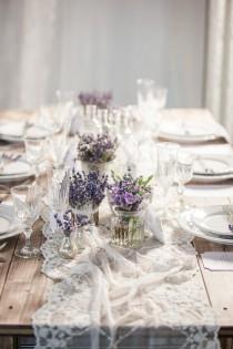 wedding photo - Französische Lavendelinspiration von der rhein-weiss