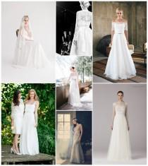 wedding photo - Die heißesten Brautmode-Trends 2015 - Nr.5: Spitzenkleider