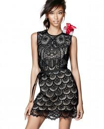 wedding photo - RED Valentino 				 			 		 		 	 	   				 				Sleeveless Macramé Owl Dress