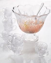 wedding photo - GODINGER SILVER ART CO          Freedom Punch Bowl with Ladle