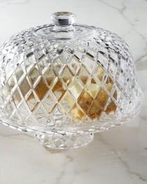 wedding photo - Muirfield Cake Plate with Dome
