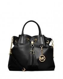 wedding photo - MICHAEL Michael Kors				 		 	 	   				 				Camden Large Drawstring Satchel Bag, Black