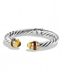 wedding photo - David Yurman				 		 	 	   				 				Renaissance Bracelet with Citrine, Rhodolite Garnet, and Gold