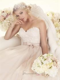 wedding photo - Sweetheart A-line Wedding Dresses