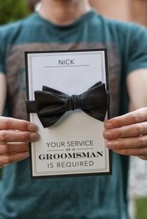 wedding photo - Pretty Perfect Will You Be My Groomsman Ideas