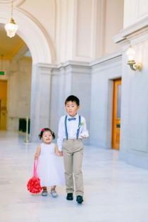 wedding photo - Flower Girl   Ring Bearer