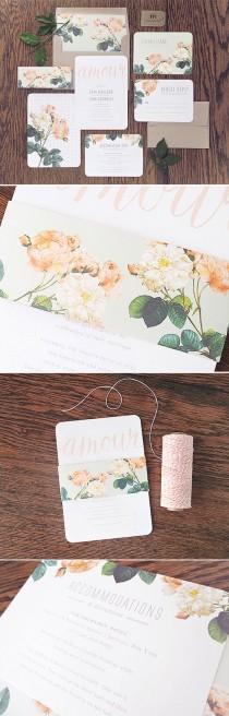 wedding photo - Wedding Invites   Paper Goods
