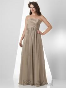 wedding photo - Slight Strapless Sweehteart Shirred Bodice Bridesmaid Dresses