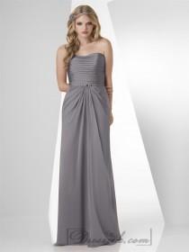 wedding photo - Strapless Shirred Grecian Draped Bridesmaid Dresses