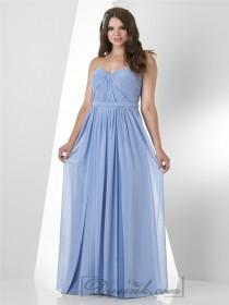 wedding photo - Strapless Sweetheart Shirred Bodice Bridesmaid Dresses