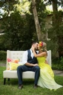 wedding photo - Bold Bright Dallas Wedding