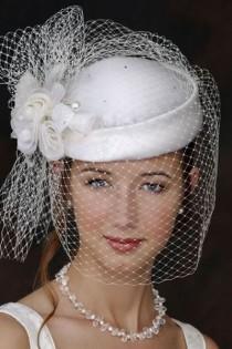 wedding photo - Wedding Hats And Fascinators