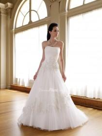 wedding photo - Stretch Satin Wedding Gowns