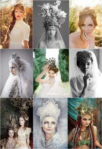 wedding photo - Bridal Crowns Pinspiration