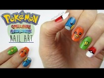 wedding photo - Pokemon Omega Ruby & Alpha Sapphire Nails!
