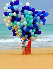 wedding photo - Balloons
