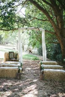wedding photo - A Casual Country Wedding Styled Shoot