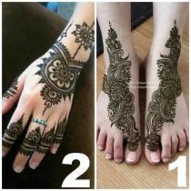 wedding photo - Henna Designs