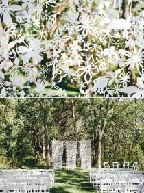 wedding photo - Arches & Backdrops & Ceremony