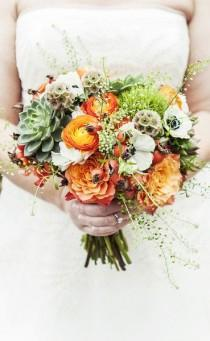 wedding photo - Orange/Peach Wedding Theme